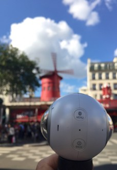 Samsung 360° in Paris