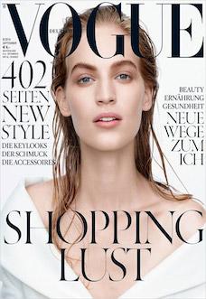 Oui Kampagnen Shooting Vogue